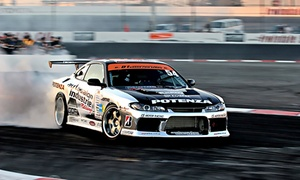 Drift School Australia: $199 for Drift Experience and Two Thrill Rides at Drift School Australia (Up to $258 Value)