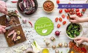 HelloFresh: HelloFresh, Weekly Meal Kit Subscriptions for up to five people (Up To 55% Off)