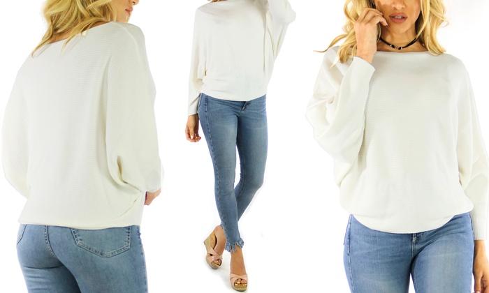 Women's Soft Light Knitted Top