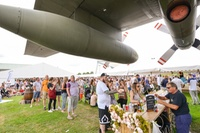 Cosford Food Festival: Entry for Two Adults or a Family at Royal Air Force Museum, 22 - 23 July (Up to 25% Off)