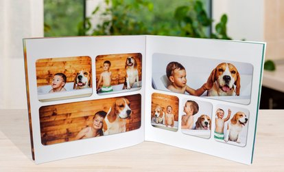 Personalized Photobook with Soft or Hard Cover by PhotobookShop (Up to 95% Off)