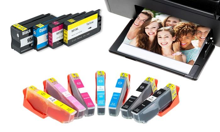 Groupon Goods Global GmbH: Set cartucce a inchiostro compatibili per stampanti Brother, Canon, Epson, HP e Lexmark da 7,99 € (fino a 85% di sconto)