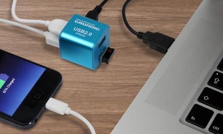 Grundig USB 2.0 FourPort Mini Hub for £5.99