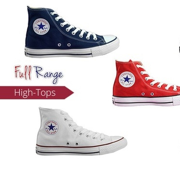 $59 for One Pair of Converse Chuck Taylor All Star High Tops in Choice of Colours (Don't Pay $100)