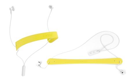 Auriculares deportivos Bluetooth Ebbelt Sport amarillos