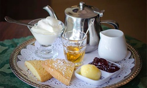 ZenTea: Tea, Scones, and Cream for Two or Four at ZenTea (Up to 42% Off)