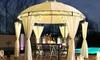 Pavillon de jardin Swing&Harmonie à éclairage LED, 3 x 4 m