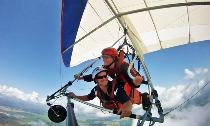 Miami Hang Gliding - The Florida Ridge Air Sports Park: $69 for a Tandem Hang-Gliding Flight Package from Miami Hang Gliding at The Florida Ridge Air Sports Park ($184 Value)