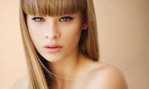 Parrucchiere Leonardo Zammarano: Hair styling con taglio, piega, colore, trattamento alla cheratina e colpi di sole (sconto fino a 81%)