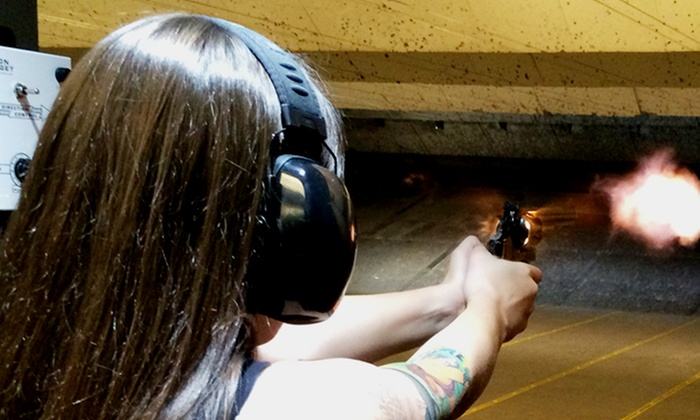 Gun Garage - Paradise: Quick Shooter Experience, Machine Gun Experience II Package, or Two-Person Package at Gun Garage (Up to 42% Off)