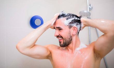 Altavoz Bluetooth para la ducha con ventosa y micrófono