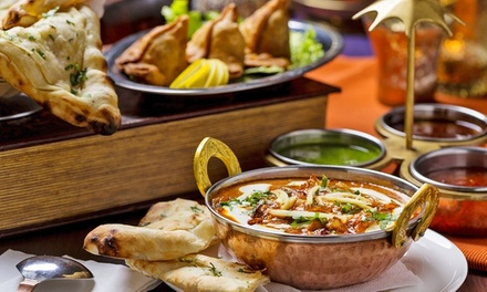 ThreeCourse Indian Meal for Two or Four at Singh's Restaurant