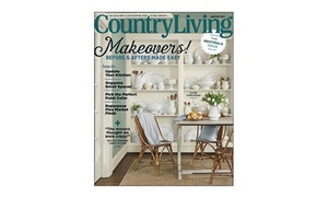 1 Year Subscription To Country Living Magazine (10 Issues)