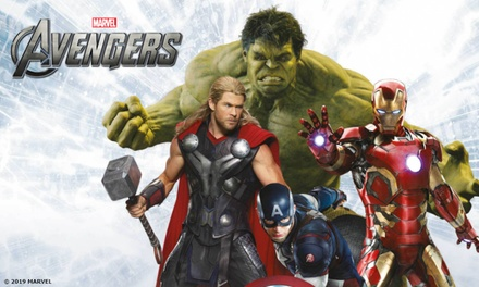 Marvel Avengers S.T.A.T.I.O.N Interactive Exhibit, 17 May–9 September, Cardiff