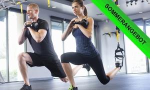 EMSsports: 1x, 3x oder 52x EMS- und TRX-Training, opt. mit Leihwäsche, bei EMSsports (bis zu 89% sparen*)