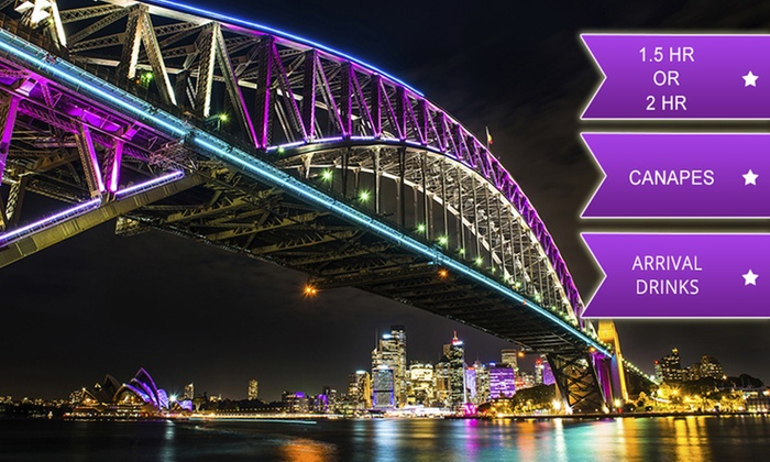 Afloat Cruises International - Sydney: From $25 for a Vivid Cruise with Canapes and Drinks with Afloat Cruises International, Sydney Harbour (From $69 Value)