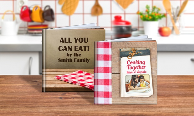 From $5 for a Personalised Recipe Book (Dont Pay up to $49.95)