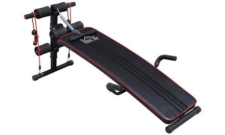 HOMCOM Sit-Up Workout Bench
