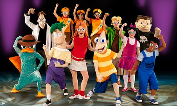 "Disney's Phineas and Ferb: The Best LIVE Tour Ever! - Multiple Locations: ""Disney's Phineas and Ferb: The Best LIVE Tour Ever!"" on December 15 or 29 (Up to 25% Off). Five Options Available."