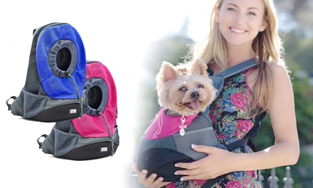 $25 for a Pet Carry Backpack in Choice of Colour