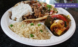 Farm Grill & Rotisserie: $14 for $20 Worth of Greek Cuisine at Farm Grill Rotisserie