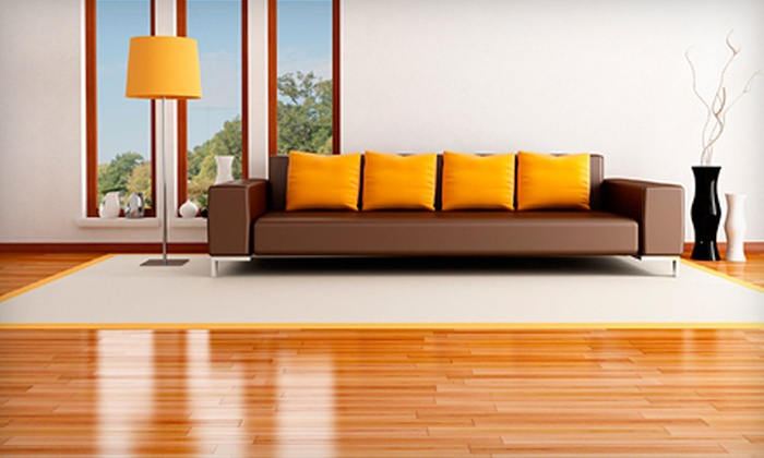 Oxy Green of Richmond - Richmond: $59 for Hardwood-Floor Cleaning and Polishing for Two Rooms and a Hallway from Oxy Green of Richmond ($139.95 Value)