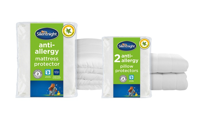 Silentnight Anti-Allergy Mattress or Pillow Protector for £11.99