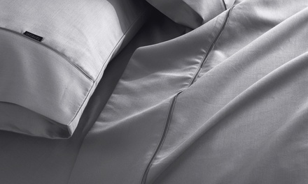 for a 1200TC Cotton Rich Sheet Set in a Choice of Colour Don't Pay up to $189