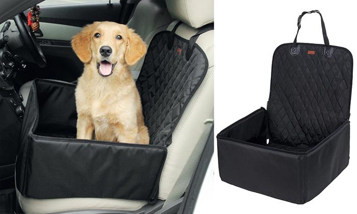 Pet Booster Car Seat Cover Groupon