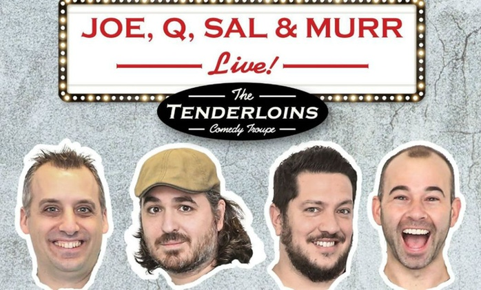 The Tenderloins Live: One Category A, B or C Ticket, 4-14 October, Nine Locations (No Booking Fees)