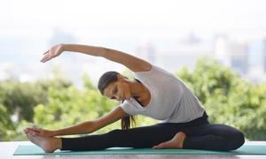 Home of Yoga: One-Month Yoga Membership for One ($29) or Two People ($49) at Home of Yoga, New Farm (Up to $360 Value)