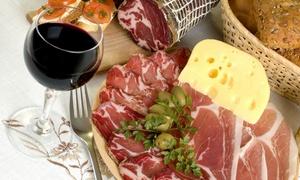 Lo Stregatto: Degustazione di salumi e formaggi con 2 calici di vino e limoncello da Lo Stregatto (sconto fino a 73%)