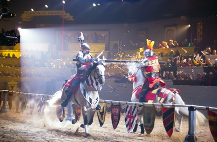 All New Show at Medieval Times Dinner & Tournament: All-inclusive tickets starting at $33 (December 3-January 31)