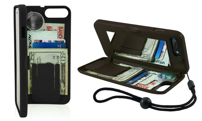 separation shoes fe090 70b30 Up To 33% Off on eyn Wallet Case for iPhone | Groupon Goods