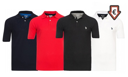 U.S. POLO ASSN. Herren-Poloshirt in der Farbe der Wahl (76% sparen*)