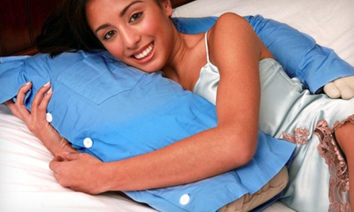 Boyfriend and Girlfriend Snuggle Pillows: Boyfriend or Girlfriend Arm Pillows