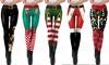 Leggings natalizi