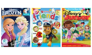 Blue Dolphin Magazines: 1-Year, 6-Issue Subscription to a Kids' Activity Magazines. Multiple Titles Available.