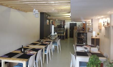 Menú italiano para 2 o 4 con surtido de entrantes, principal, postre y bebida desde 19,95 € en Al Taglio