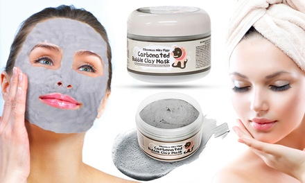 One or Two Carbonated Bubble Clay Face Masks