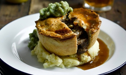 Brewery Tour with Beer Tasting and Pieminister Pie and Mash Meal for One or Two at The Duke William