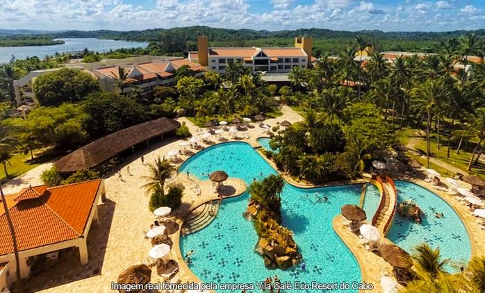 Vila Galé Eco Resort do Cabo/PE: até 7 noites para 2 + all inclusive (opção no carnaval)