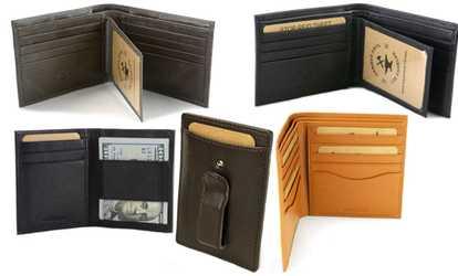 men s wallets money clips deals coupons groupon