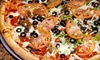 Mark Rich's NY Pizza RDC - Las Vegas: Italian Food for Dine-In or Catering at Mark Rich's NY Pizza & Pasta (Half Off)