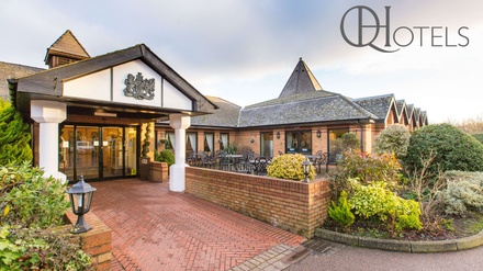 Spa Day Pass with Refreshments for Two at Bridgewood Manor