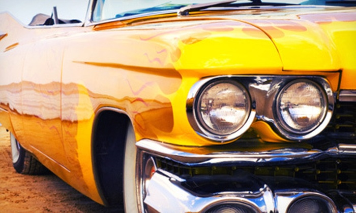 LUSTR Auto Detail - Hoffman Estates: Light Machine-Polish Detail and Basic Interior Detail for an SUV or Car at LUSTR Auto Detail (Up to 51% Off)