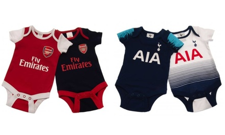 Two-Pack of Football Baby Bodysuit