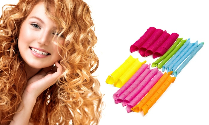 Heatless Hair Curlers Groupon