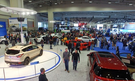 $8 for a Weekday Visit to The Washington Auto Show on January 30–February 3, 2017 ($12 Value)