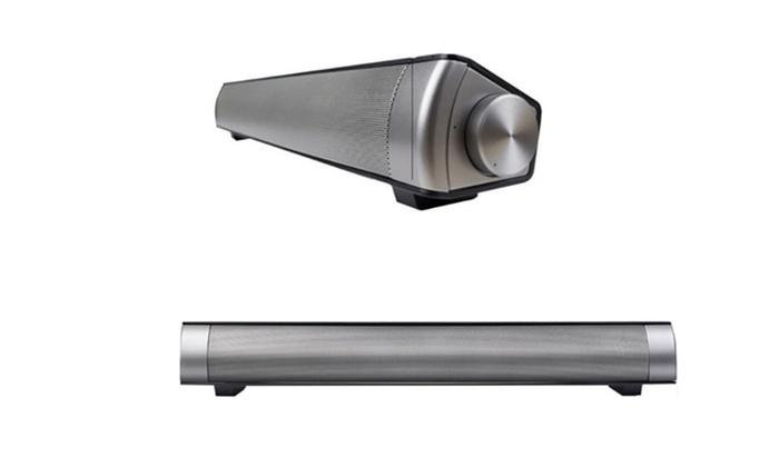 Swisstek Hi-Fi Wireless Bluetooth Sound Bar with Remote | Groupon